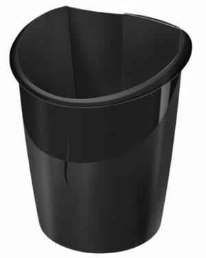 Papperskorg CEP Ellypse 15L svart